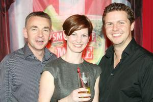 David Callaghan, Carol McHugh and Jonny Wells at the launch of the Smirnoff Mule in Belfast