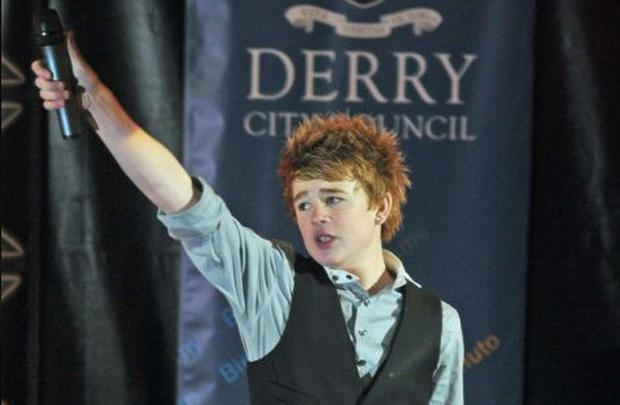Going for X Factor glory: Eoghan Quigg
