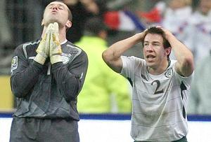 <b>Sean St Ledger (right) - 9</b><br /> Made three tremendous blocks which were clearly goal-bound. Considering where this guy has come from, he deserves outstanding credit for producing such sturdiness on the world stage