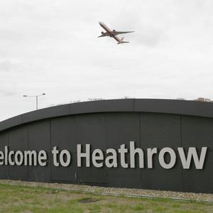 A man arrested at Heathrow Airport has been charged in connection with an investigation into alleged terrorist activity in Syria