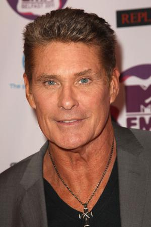 BELFAST, NORTHERN IRELAND - NOVEMBER 06:  David Hasselhoff attends the MTV Europe Music Awards 2011 at the Odyssey Arena on November 6, 2011 in Belfast, Northern Ireland.  (Photo by Dave J Hogan/Getty Images)