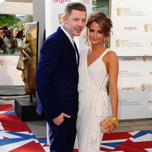 Professor Green was at the TV Baftas with girlfriend Millie Mackintosh