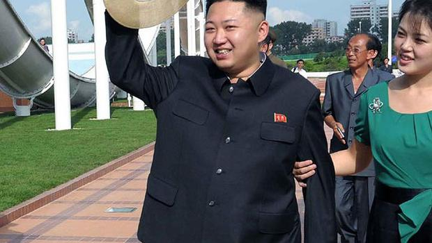North Korean leader Kim Jong Un was named 'sexiest man alive' in a spoof news article (AP)