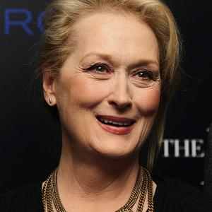 Meryl Streep is nominated for an award for her film The Iron Lady