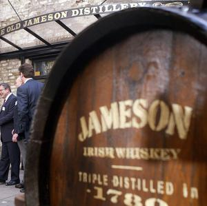 Worldwide sales of Jameson whiskey have surged