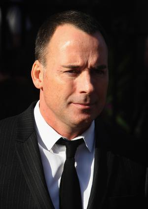 David Furnish attends the funeral of Boyzone singer Stephen Gately at St Laurence O'Toole Church in Dublin