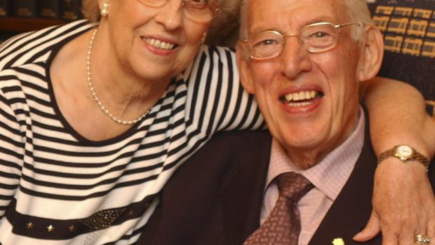 DUP leader Ian Paisley pictured with his wife Eileen on his return from a short stay in hospital. He is now enjoying his summer break before returning to Political work in the Autumn.