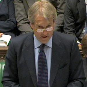 Northern Ireland secretary Owen Paterson gives his statement to the House of Commons, London