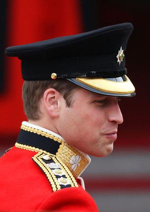 LONDON, ENGLAND - APRIL 29:  Prince William of Wales arrives to attend his Royal Wedding to Catherine Middleton at Westminster Abbey on April 29, 2011 in London, England. The marriage of the second in line to the British throne is to be led by the Archbishop of Canterbury and will be attended by 1900 guests, including foreign Royal family members and heads of state. Thousands of well-wishers from around the world have also flocked to London to witness the spectacle and pageantry of the Royal Wedding.  (Photo by Chris Jackson/Getty Images)