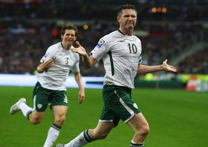 <b>Robbie Keane - 9</b><br /> Wonderfully taken goal launched a night of a thousand dreams, showing excellent awareness to pull wide off Duff and then hold the space, before calmly hitting his strike across his body. A huge moment and the captain delivered