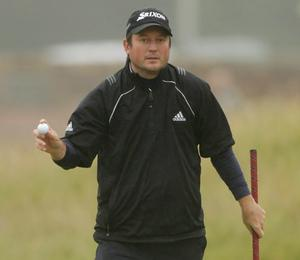 Tim Clark at The Open. July 2010