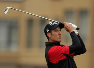 Ross Fisher at The Open. July 2010