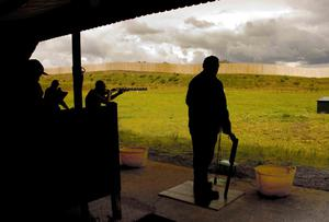 A clay pigeon club (for illustration purposes, not connected with the tragic accident in Co Down)