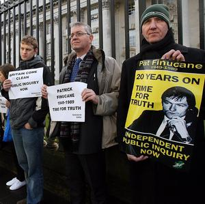 The Government will make a final decision on whether to hold a public inquiry into the murder of Pat Finucane