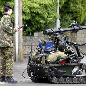 Army bomb disposal experts were called to examine a viable device in a car in Belfast
