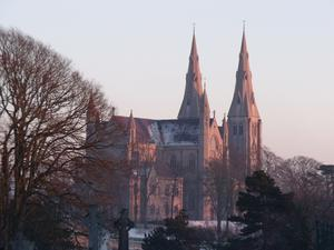 Rear of Armagh Cathedral in the early evening. By Gary English, Portadown