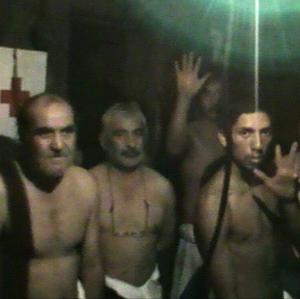 An image from a new video shows some of 33 trapped miners inside the San Jose mine in Copiapo, Chile (AP)