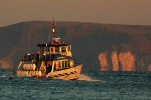 The Rathlin Ferry rescued a team of divers.