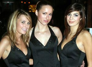 Nights out at the Taphouse, Belfast:  Ursula Toland, Victoria Bradshaw and Gemma McCorry at the Taphouse bar, Belfast