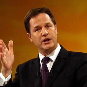 Voting on gay marriage should not be left to MPs' consciences, Nick Clegg has said