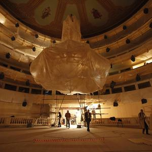 Moscow's legendary Bolshoi Theater is repoening after being restored (AP)