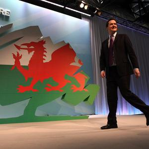 George Osborne told the Welsh Conservatives' conference that other areas are in need of investment, not just London and the South East