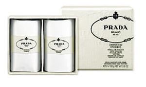 <b>Prada Infusion D'Homme Soap</b><br/>  A very rich, cleansing soap that uses avocado oil, which moisturises the deep pores of the skin.<br/>  <b>Where </b>John Lewis (www.johnlewis.co.uk) <br/>  <b>How much</b> £23.43