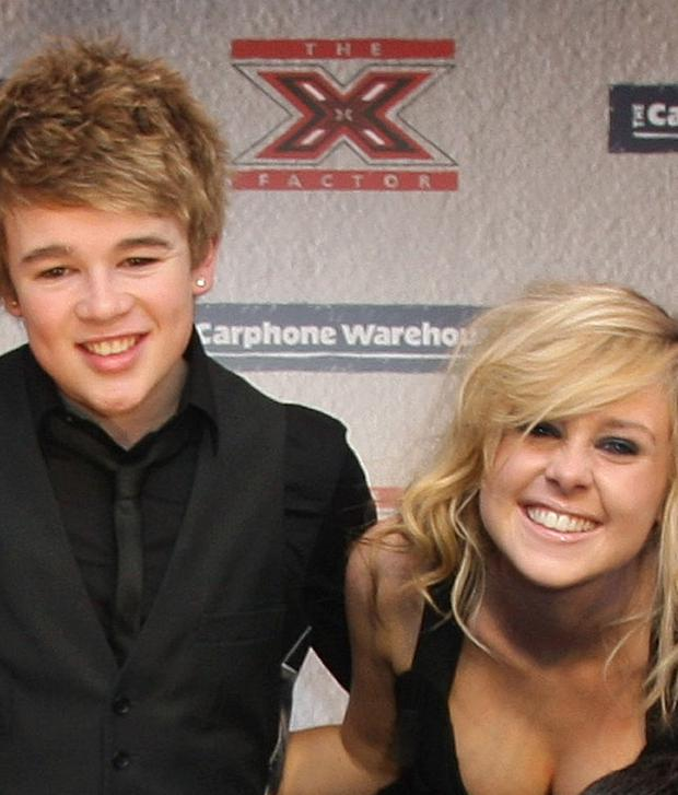 Eoghan Quigg with Diana Vickers