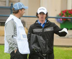 Rory McIlroy at The Open. July 2010