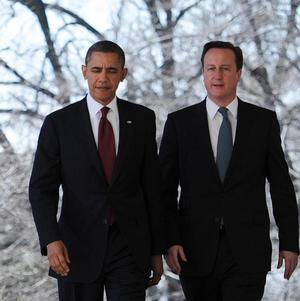 Prime Minister David Cameron said he had discussed the Falklands with US President Barack Obama
