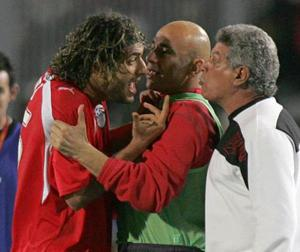 <b>Mido v Egypt managers</b><br/> In 2004, Mido faxed the Egyptian FA to let them know he wouldn't be playing in that year's African Cup of Nations, saying he was psychologically unfit. When the striker changed his mind, the Italian manager of the Egypt team, Marco Tardelli, refused to pick him anyway. Mido was furious and his outburst led to him being banished by the Egyptian FA. Yet it didn't end there. After Tardelli was sacked, Mido returned to the fold (after the obligatory apology) and featured in the 2006 African Cup of Nations. Yet when he was taken off in the semi-final against Senegal he went crazy at new manager Hassan Shehata and stormed down the tunnel. Yet Mido had to concede his manager had done the right thing when his replacement, Amr Zaki, came on and scored the winner. It was apology time for Mido again - but Shehata was having none of it and dropped him from the final before he was banned from playing for Egypt for six months.