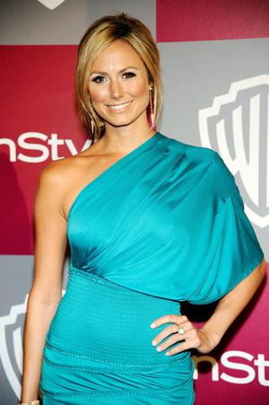 BEVERLY HILLS, CA - JANUARY 16: Actress Stacy Keibler arrives at the 2011 InStyle And Warner Bros. 68th Annual Golden Globe Awards post-party held at The Beverly Hilton hotel on January 16, 2011 in Beverly Hills, California.  (Photo by Kevork Djansezian/Getty Images)
