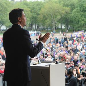 Labour leader Ed Miliband accused the government of 'clinging' to policies which were not working