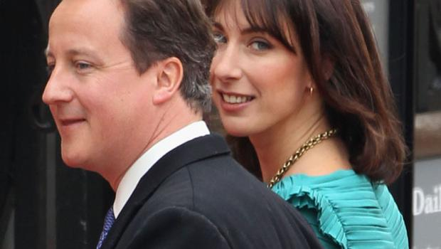 LONDON, ENGLAND - APRIL 29:  British Prime Minister David Cameron and wife Samantha Cameron arrive to attend the Royal Wedding of Prince William to Catherine Middleton at Westminster Abbey on April 29, 2011 in London, England. The marriage of the second in line to the British throne is to be led by the Archbishop of Canterbury and will be attended by 1900 guests, including foreign Royal family members and heads of state. Thousands of well-wishers from around the world have also flocked to London to witness the spectacle and pageantry of the Royal Wedding.  (Photo by Dan Kitwood/Getty Images)