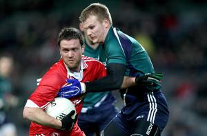Martin Penrose (left) will play a key role for Tyrone