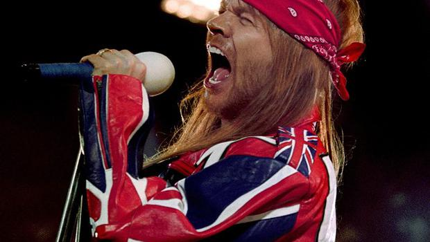 Axl Rose of Guns n' Roses closed the Leeds Fesitval with a foul-mouthed tirade