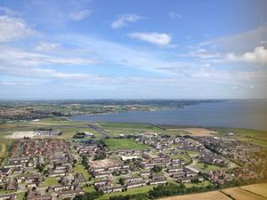 Top of Scrabo Tower. Submitted by Christina Price