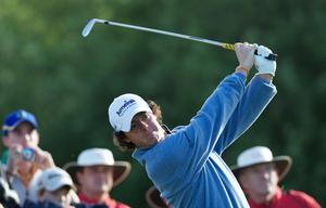 Rory McIlroy of Northern Ireland during the first round of The JP McManus Invitational Pro-Am event at the Adare Manor Hotel and Golf Resort on July 5, 2010 in Limerick