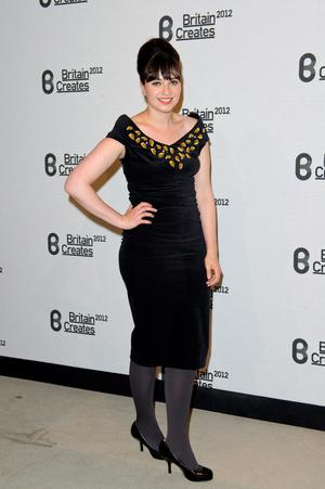 Gizzi Erskine attends Britain Creates 2012: Fashion & Art Collusion  at Old Selfridges Hotel on June 27, 2012 in London, England.