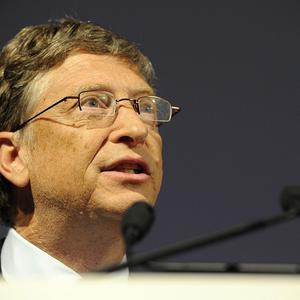 Microsoft tycoon Bill Gates speaks at the Global Alliance for Vaccines and Immunisation (GAVI) conference in London