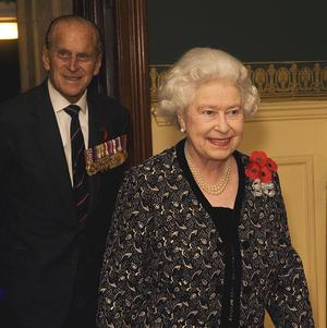 The Queen and Duke of Edinburgh attended the Festival of Remembrance at the Royal Albert Hall on Saturday night