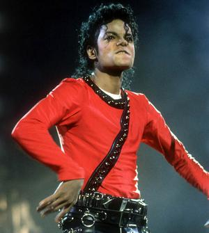 "Michael Jackson performing on stage during his ""Bad"" World Tour in Tokyo,Japan on the 14th of September 1987."