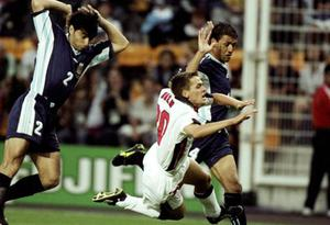 <b>Michael Owen </b><br/>  Michael Owen seems to have a special bond with Argentina, as many England supports will remember his spectacular diving skills during both the 1998 and 2002 World Cup matches...