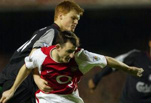 """<b>Francis Jeffers </b><br/>  In December 2002, Francis Jeffers's dive against Liverpool earned Arsenal a penalty and a point. But opponents weren't amused: whereas Ron Harris merely mused that he wouldn't be surprised if Jeffers practised diving in training, Peter Osgood remarked that """"he's the biggest cheat in football"""" and that he would """"love to see him get really hurt."""""""