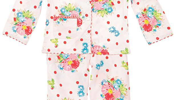 <b>2. Room Seven</b>  £31, allthingscute.co.uk  These pretty girls' pyjamas feature pink poppies on luxurious cotton. Richly detailed and wonderfully traditional, they are for kids from six months to 12 years.