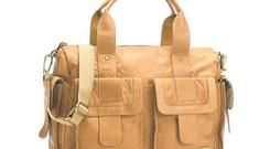 <b>(5) Storksak </b><br/> Made from beautifully soft leather, it boasts five outer pockets and a multitude of inner pockets. If you're a mother, you'll also dig the thermo-insulated bottle holder, changing mat and wipe-clean linings. <b>£250, storksak.co.uk </b>