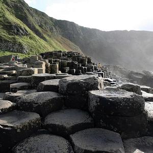 The Giant's Causeway is one of Northern Ireland's main tourist attractions
