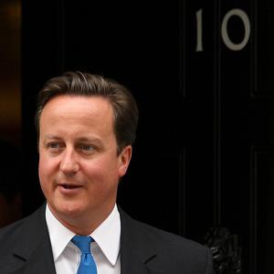 Prime Minister David Cameron said he 'absolutely' did not think the UK should contribute towards a potential Greek bailout