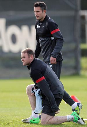 Wayne Rooney and Robin van Persie are hoping to forge a successful partnership for Manchester United