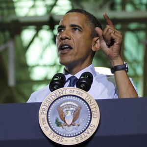 President Barack Obama is satisfied the US can safely end its combat role in Iraq on schedule